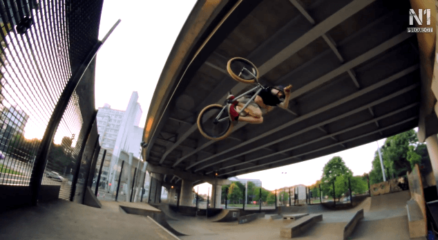 Mike Curley ripping up Projekts Skatepark // N1Project
