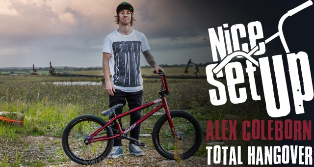 Alex Coleborn's NICE SET UP