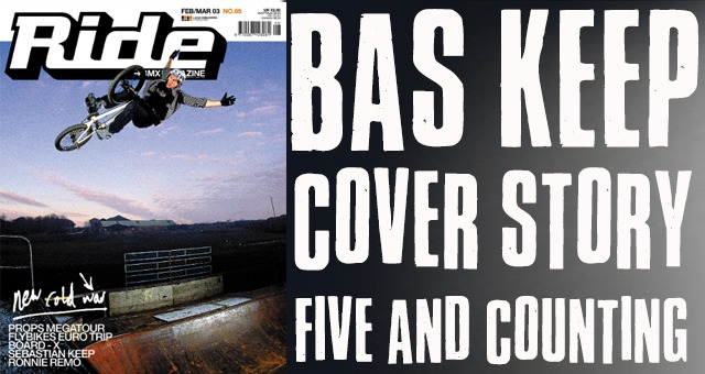 Bas Keep Cover Story - Five And Counting