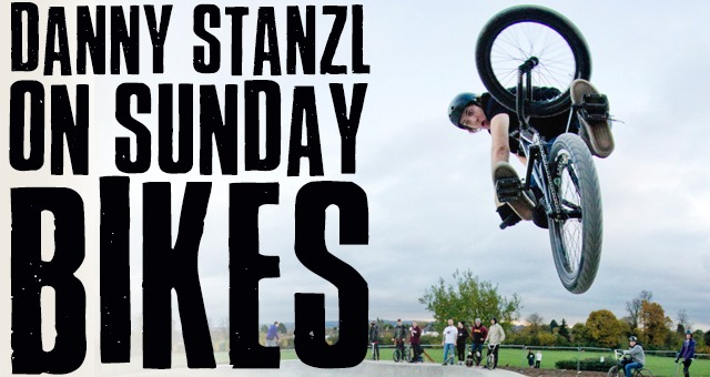 Danny Stanzl on Sunday Bikes