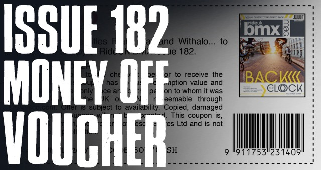 ISSUE 182 - MONEY OFF VOUCHER