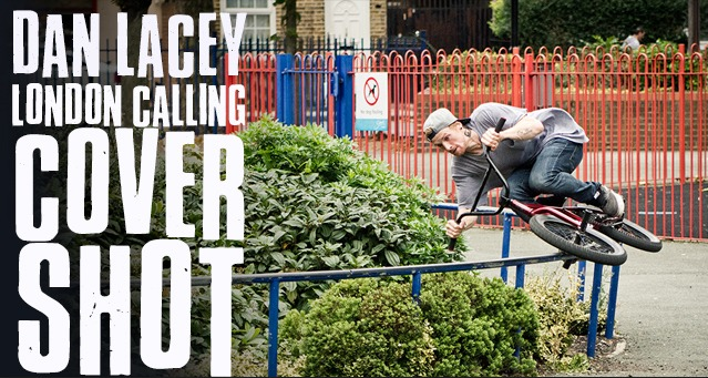 Dan Lacey - Cover Shot - London Calling