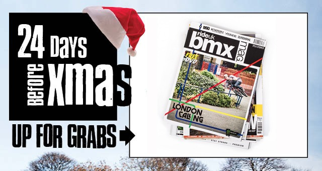 24 Days Before Xmas: Day 19 RideUKBMX Subscription