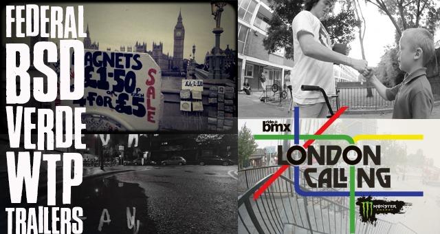 London Calling Trailers - Federal, BSD, VERDE, WTP.