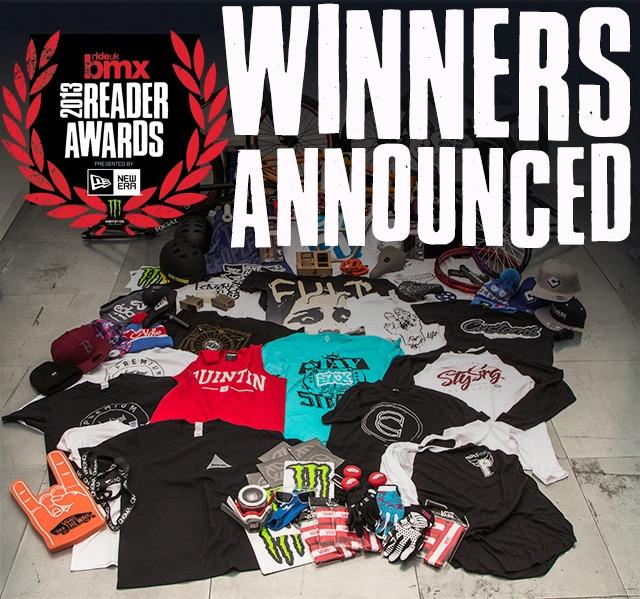 RideUKBMX Reader Awards 2013 Survey - WINNERS ANNOUNCED