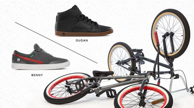 Etnies X Fit Bike Co - Benny L & Dugan Collabs