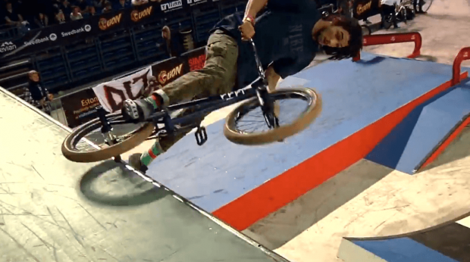 Seventies at Simple Session 2014 BMX