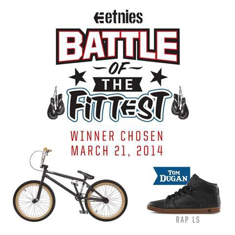 Win a BMX bike and Shoes from Etnies & Fit