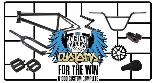 For the Win 186 – Custom Riders £1000 Custom Build
