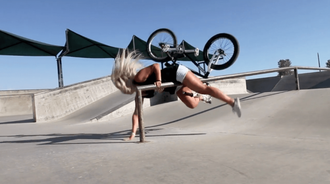Why Perris Benegas could be the best female BMXer on Earth...
