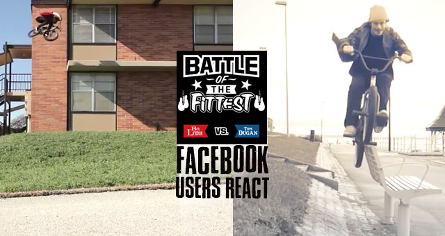 Facebook Users React: Battle of the Fittest