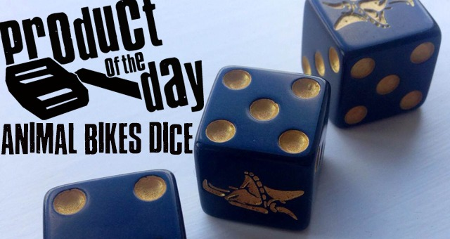 Product Of The Day - Animal Bikes Dice