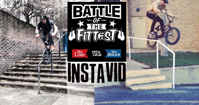 Battle of the Fittest: Benny L VS Tom Dugan - INSTAVID