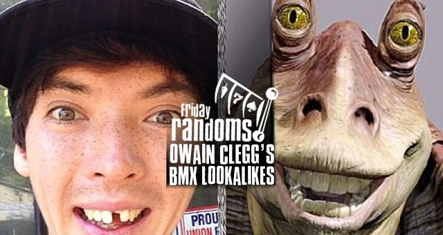 Friday Randoms: Owain Clegg's BMX Lookalikes
