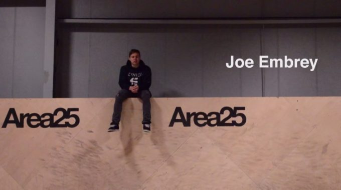 Joe Embrey at Area 25
