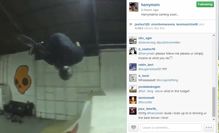 Harry Main - Flip 180 Drop-In