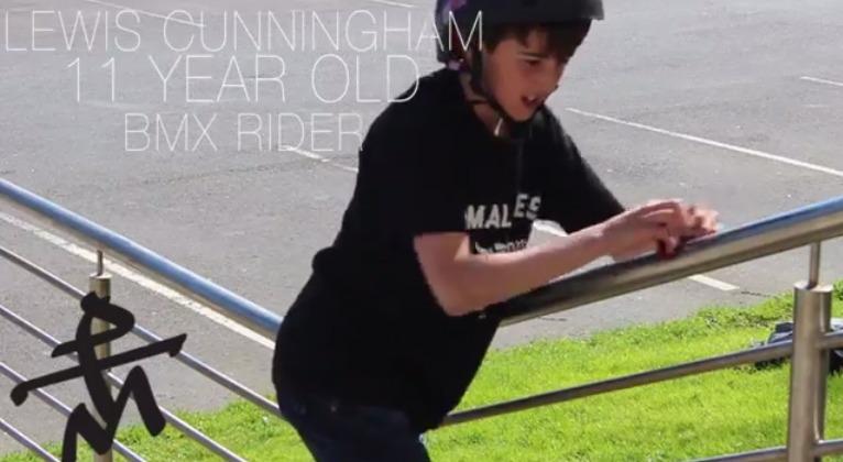 Lewis Cunningham - 11 year old STREET Edit.