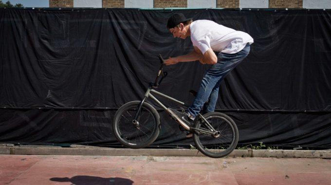Ride Basics: Hop Barspin
