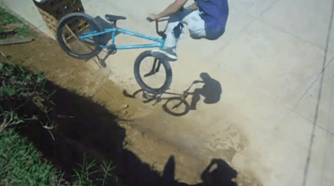 BMXer with ONE LEG Is Amazing…..