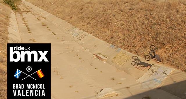 RideUKBMX Exclusive - Brad McNicol In Valencia