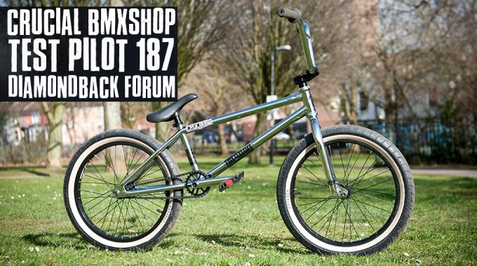 Crucial BMX Shop - Test Pilot 187 Diamondback Forum 2014
