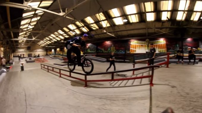 Couple of clips with Big D and Powers at Ramp1
