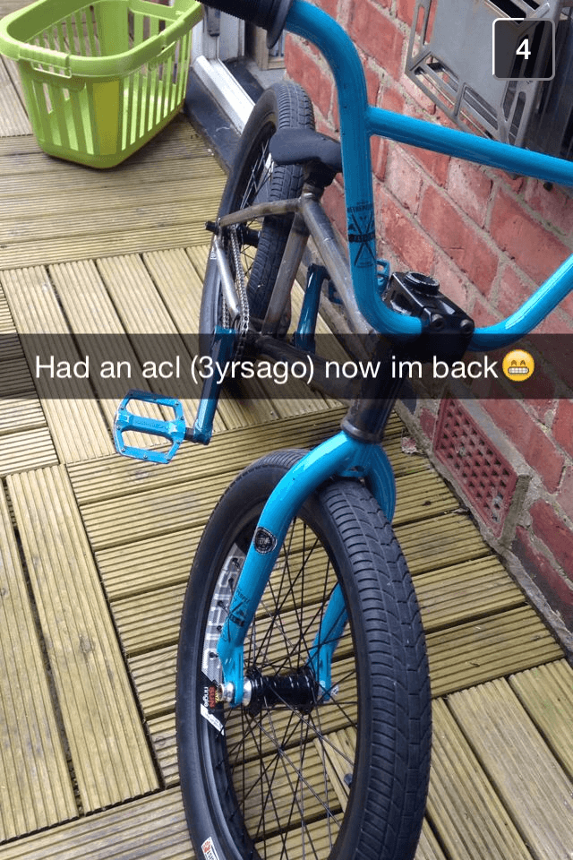Welcome back to BMX bro!