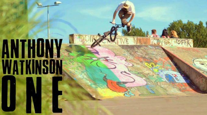 RideUKBMX Exclusive - Anthony Watkinson ONE