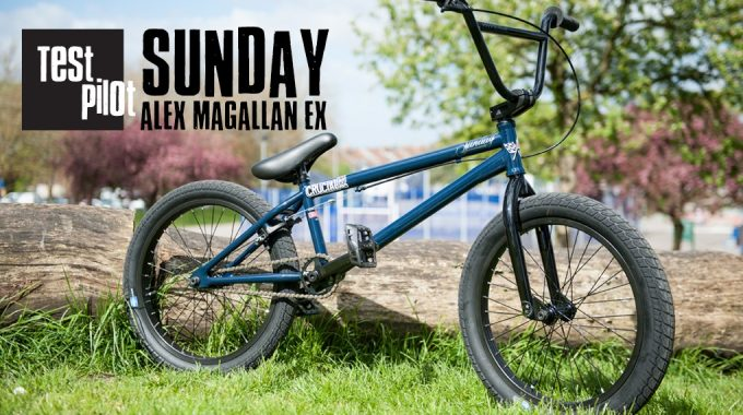 Crucial BMX Shop - Test Pilot 188 Sunday Alex Magallan EX