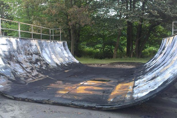 Brighouse Skatepark Burnt Down In 2:30am Attack