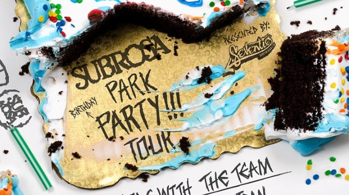 Subrosa Park Party Tour At Level In Brighton