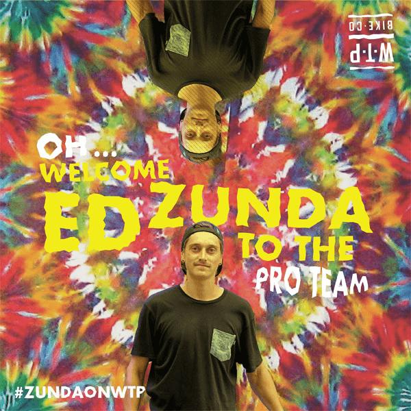 WTP WELCOMES ED ZUNDA!
