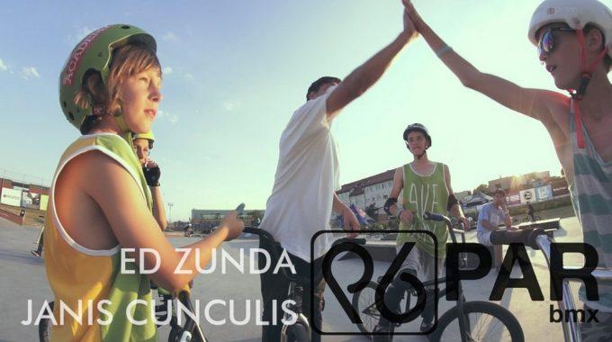PARBMX / Ed Zunda & Janis Cunculis @ Poland BMX camp