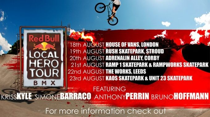 Red Bull Local Hero Tour at The House Of Vans London