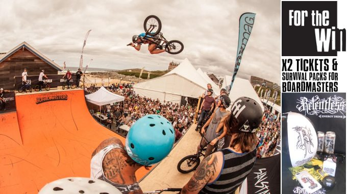 Last Minute Chance To Get Yourself To Boardmasters - WIN X2 TICKETS AND X2 SURVIVAL PACKS