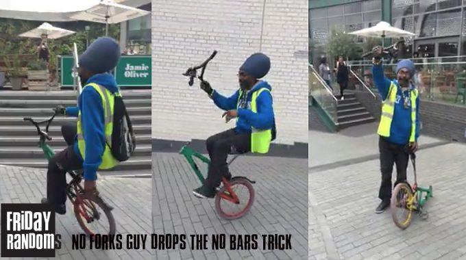Friday Randoms - No Forks Guy Drops The No Bars Trick