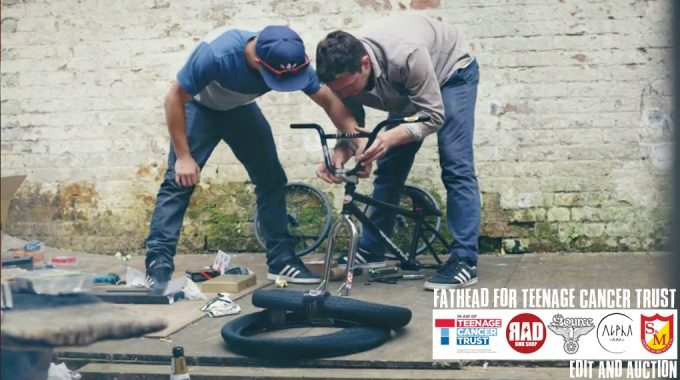 Fathead FOR Teenage Cancer Trust - Edit & Auction