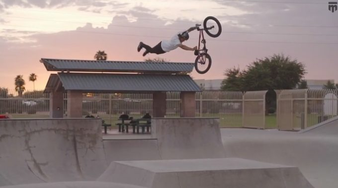 Mongoose Bicycles - Kevin Peraza Brings the Heat...Literally