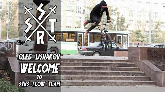 Oleg Ushakov welcome to STRS FLOW TEAM