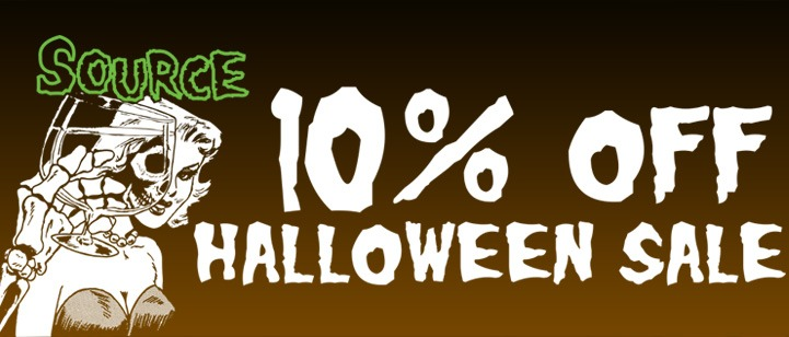 The Source Halloween Sale is Now On!
