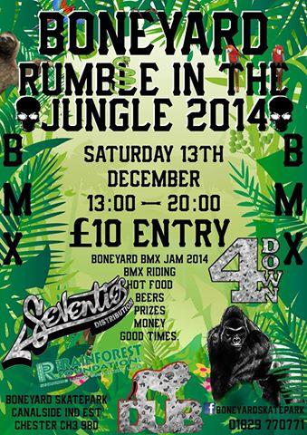 Boneyard Skatepark - Rumble In the Jungle