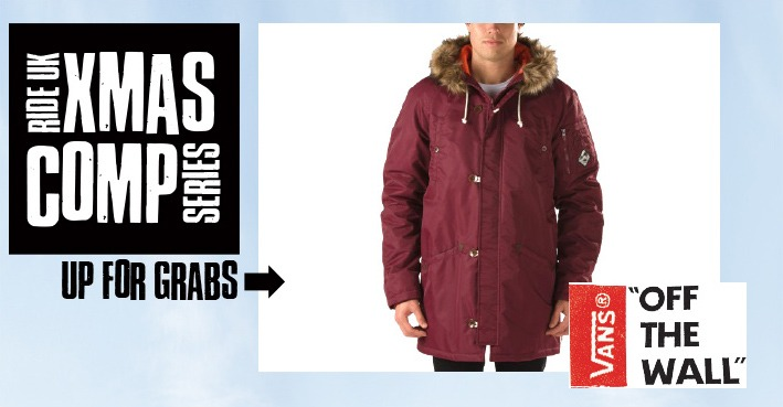 XMAS COMP SERIES - Win A Vans Hench Jacket