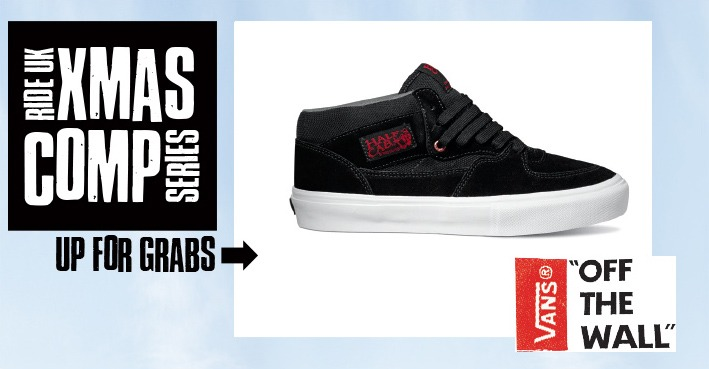XMAS COMP SERIES - Win A Pair Of Vans Shoes Of Your Choice