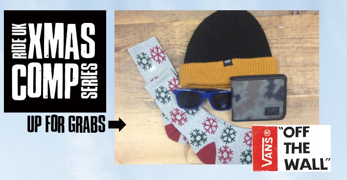 XMAS COMP SERIES - Win A Vans Accessories Pack