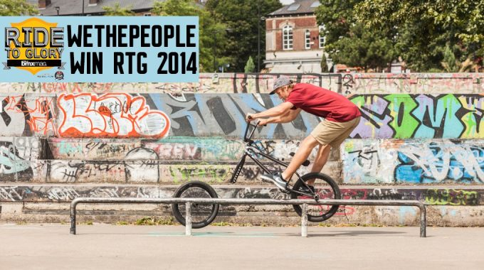 Ride To Glory 2014 - DUBBMX Win The Video Vote & Wethepeople Win Overall