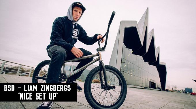 BSD Liam Zingbergs - 'Nice Set Up'