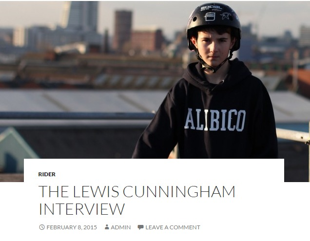 The Lewis Cunningham Interview