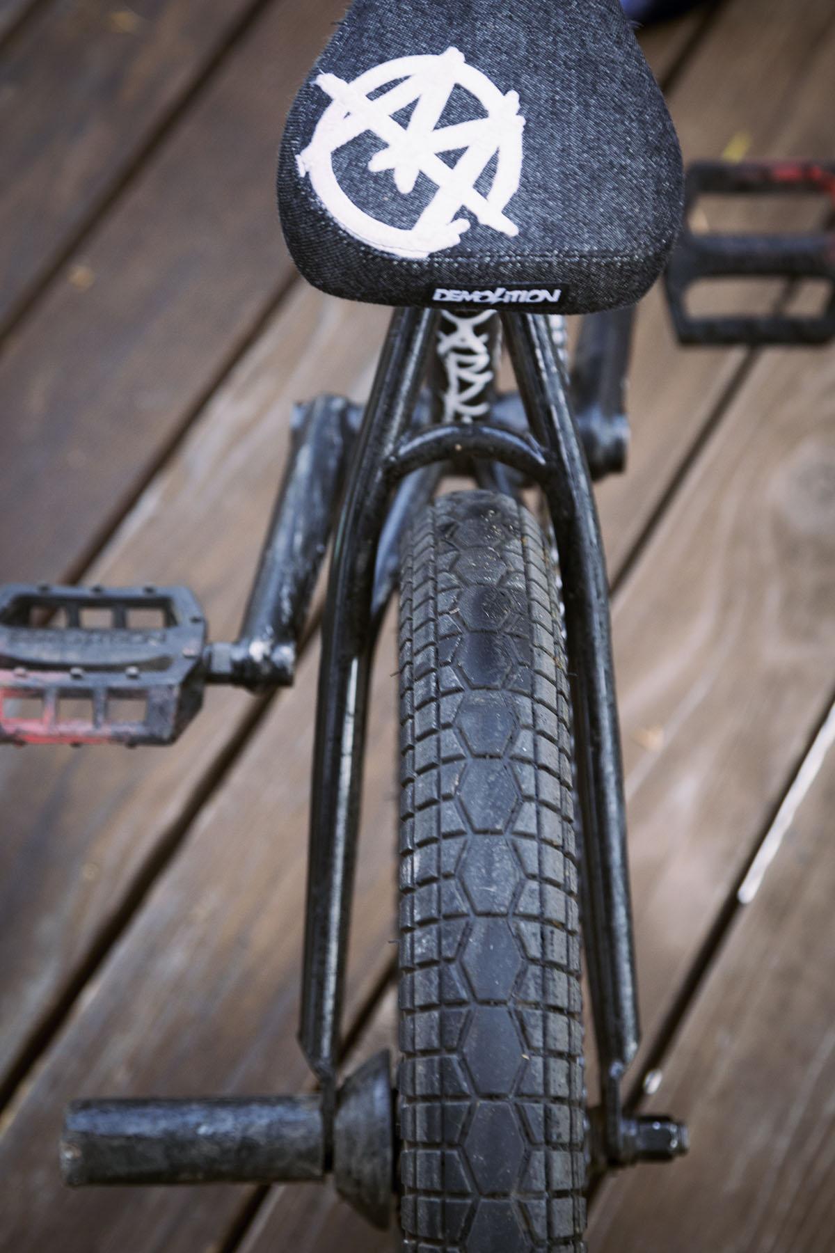 DE bike back
