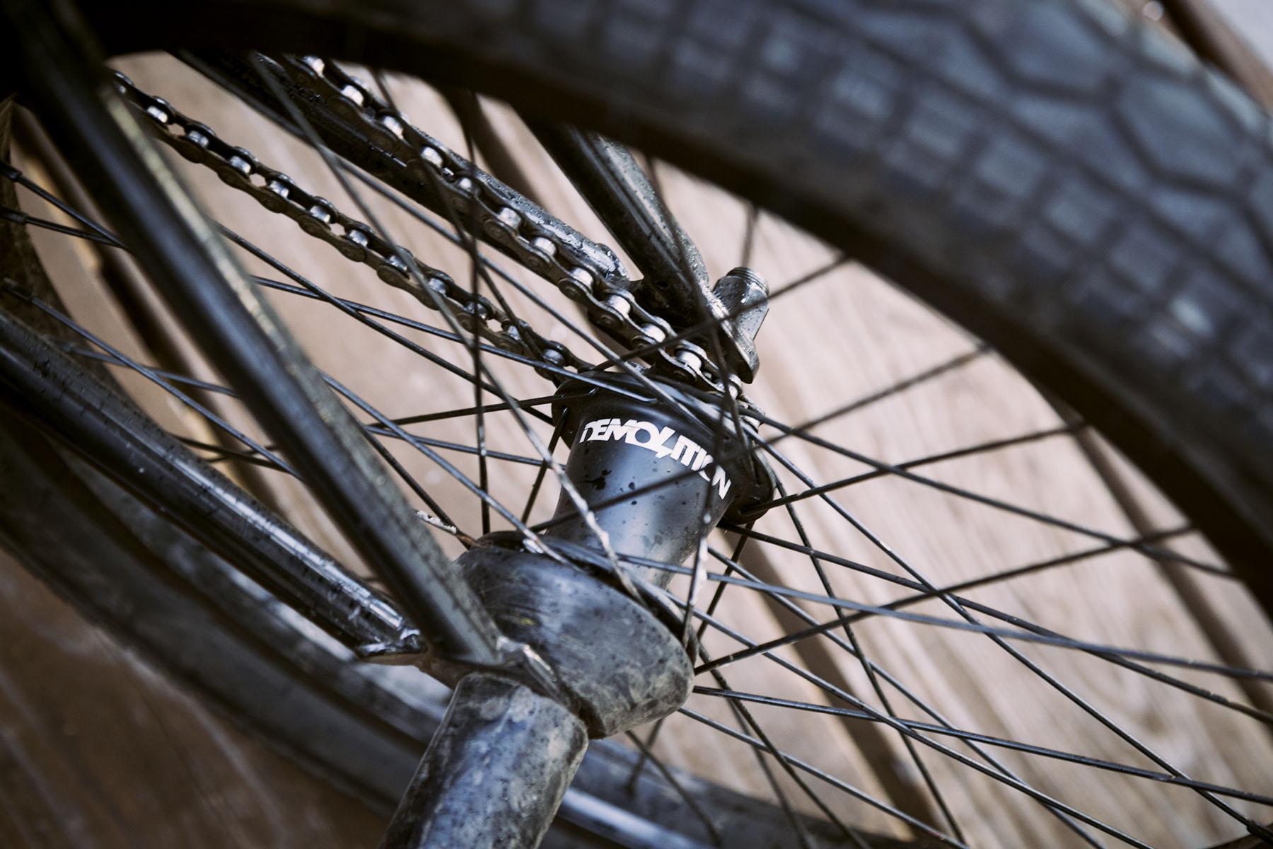 DE bike coaster