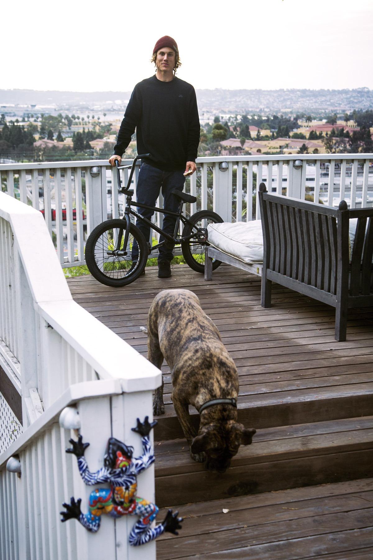 DE bike portrait